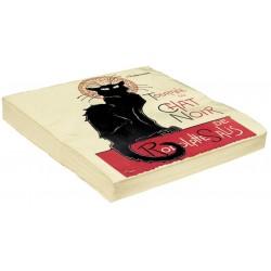 Serviettes - Tournée du Chat noir