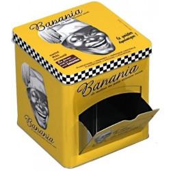 Boite distributrice - Tête Tirailleur noir et blanc - Banania