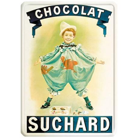 Plaque métal - Pierrot - Chocolat Suchard