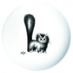 Assiette - Chat mignon - Chats Dubout