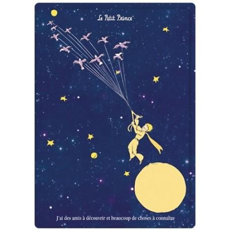 Plaque métal - L'envol - Le Petit Prince