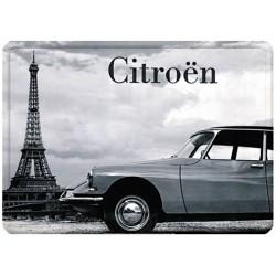Plaque métal - DS Tour Eiffel
