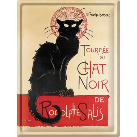 Plaque métal - Tournée du Chat noir - Tournée du Chat noir