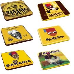 6 dessous de verres - Banania - Banania