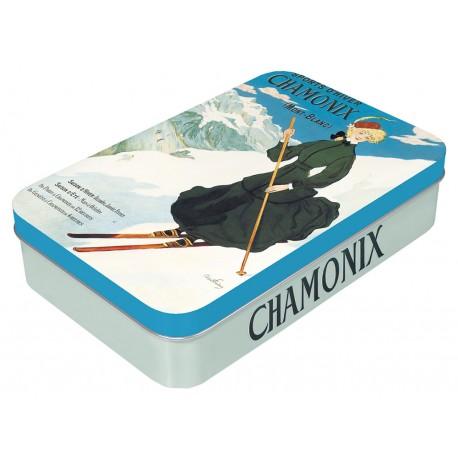 Boite à savon - Chamonix - La skieuse - PLM