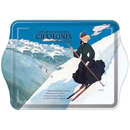 Vide-poches - Chamonix - La skieuse - PLM