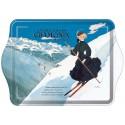 Vide-poches - Chamonix - La skieuse