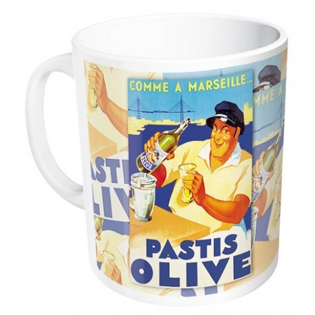 Mug - Pastis Marseille - Pastis Olive