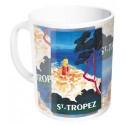 Mug - Vue aérienne de Saint-Tropez