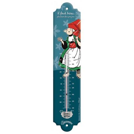 Thermomètre - Il fait beau - Bécassine