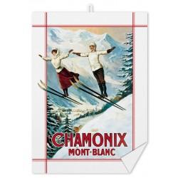 Torchon - Chamonix Les deux sauteurs