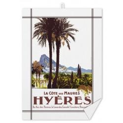 Torchon - Hyères - Les Palmiers (fin de série)