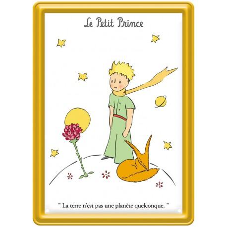 Plaque métal - Écharpe - Le Petit Prince