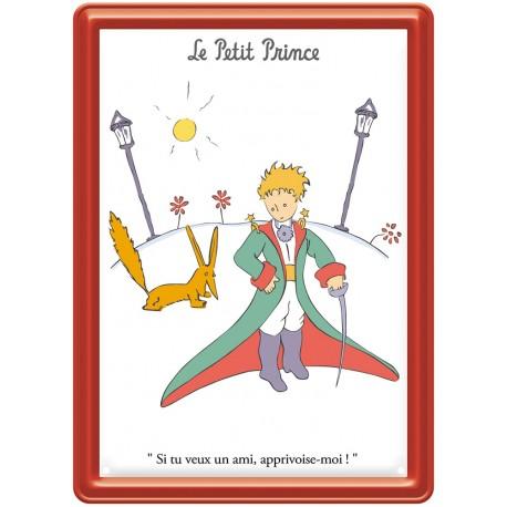 Plaque métal - Réverbères - Le Petit Prince