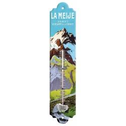Thermomètre - Versant de La Grave - La Meije