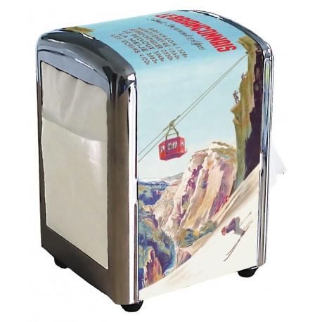 Distributeur de serviettes - Le Briançonnais