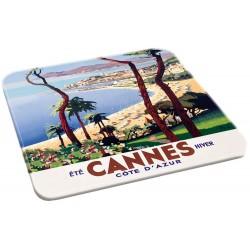 Dessous de plat - Eté hiver Cannes (fin de série)