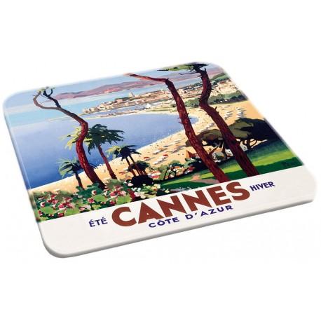 Dessous de plat - Eté hiver - Cannes