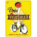 Plaque métal 15x21 - VéloSoleX