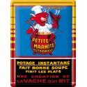 Plaque métal 30x40 - Marmite