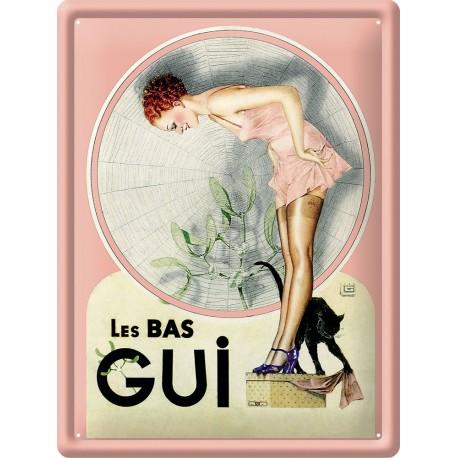 Plaque métal - Les Bas Gui - Gui