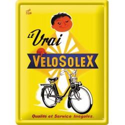 Plaque métal 30x40 - VéloSoleX