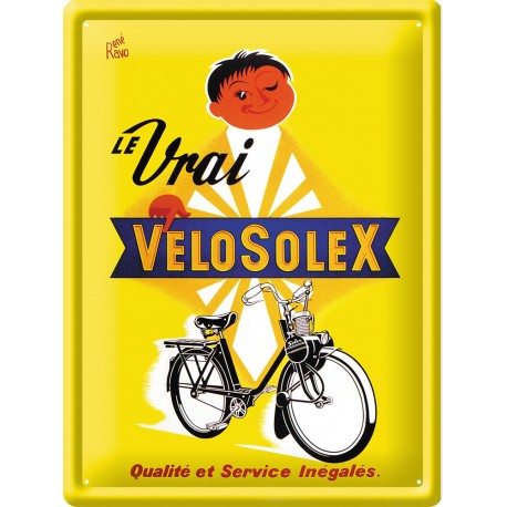 Plaque métal - VéloSoleX - Solex