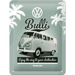 Plaque métal 3D 15x20 - Bulli Enjoy