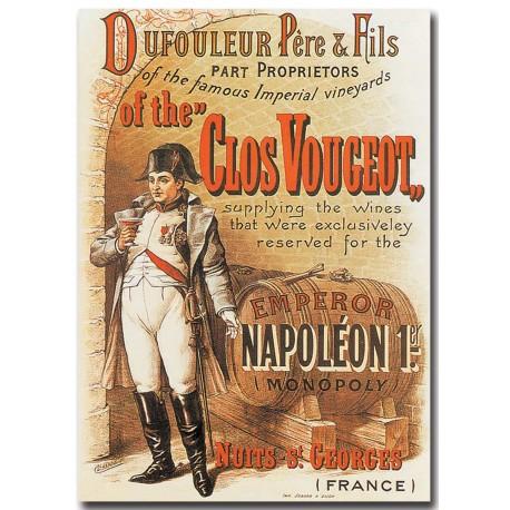 Affiche - Clos Vougeot Napoléon (fin de série) - Doufouleur