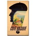 Affiche - Côte Basque (rupture définitive)