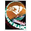 Affiche - Le Tour du Mont-Blanc