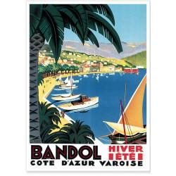 Affiche - Port de Bandol