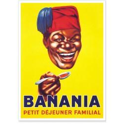 Affiche - Tête Tirailleur - Banania