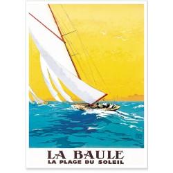 Affiche - La Baule - Compagnie PO
