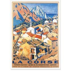 Affiche - Village d'Évisa