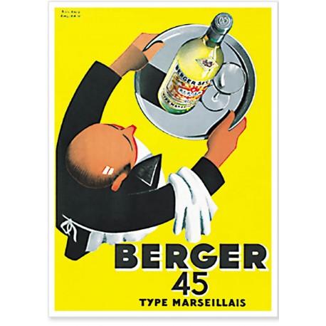 Affiche - Serveur - Berger 45