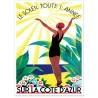 Affiche - Côte d'Azur - Soleil toute l'année - PLM
