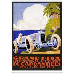 Affiche - Grand Prix d'Antibes de 1929