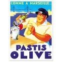 Affiche - Pastis Marseille