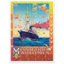 Affiche - Compagnie des messageries maritimes