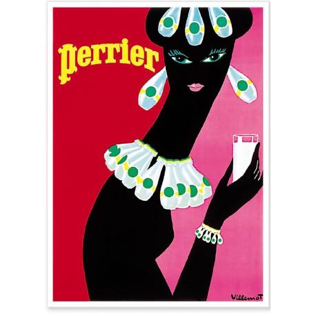 Affiche - Noire - Perrier