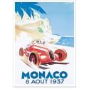 Affiche - Grand Prix de Monaco de 1937