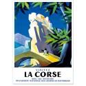 Affiche - Village de Corte en Corse
