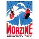 Affiche - Le téléphérique de Morzine