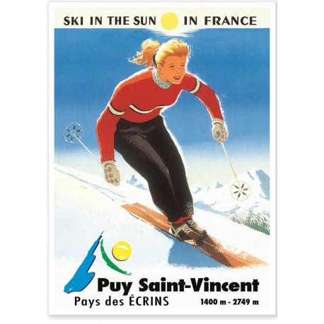 Affiche - Puy-Saint-Vincent