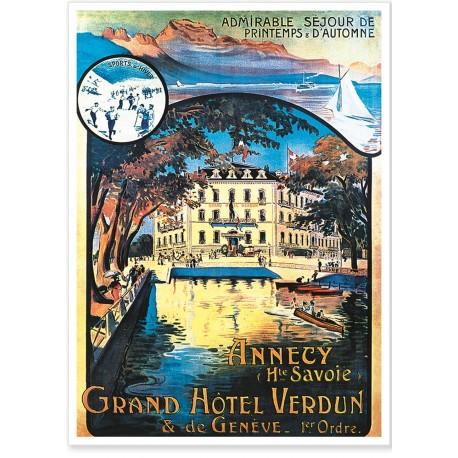 Affiche - Grand Hôtel Verdun