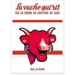 Affiche - Crème de gruyère de luxe - Vache qui rit