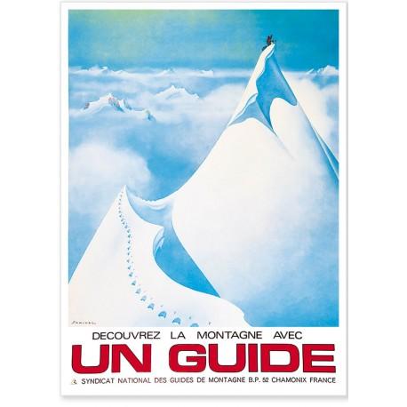 Affiche - Un guide Chamonix (rupture définitive)