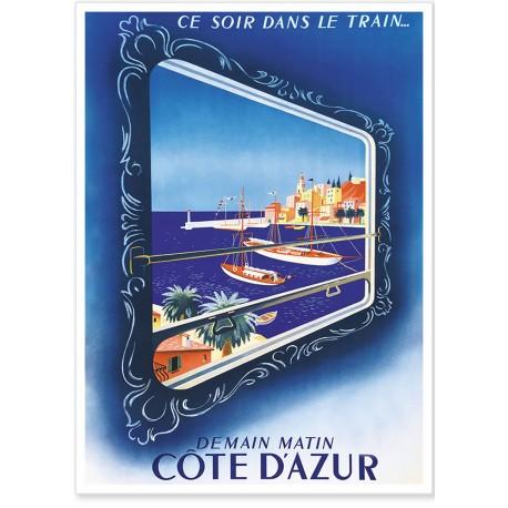 Côte d'Azur - Vue du Train Bleu