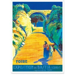 Affiche - Corse - Foire de Bastia